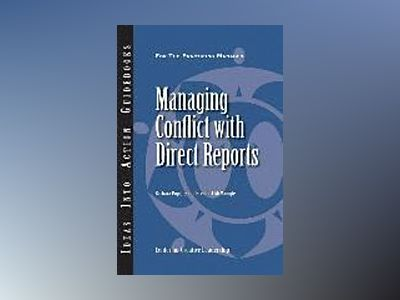 Managing Conflict with Direct Reports av CCL