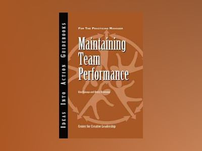 Maintaining Team Performance av CCL