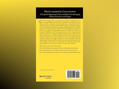 Effective Leadership Communication: A Guide for Department Chairs and Deans av Mary Lou Higgerson