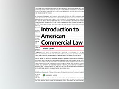Introduction to American commercial law av Barney Fyman