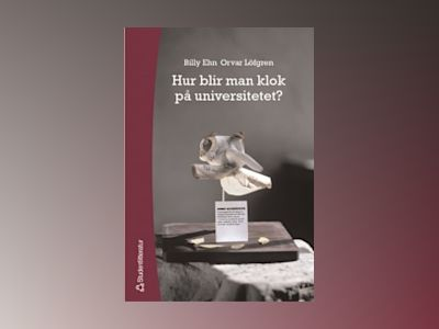 Hur blir man klok på universitetet? av Billy Ehn