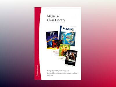 Magic! 6 Class Library - Easy readers (4 st.) med ordlista av Karin Smed-Gerdin