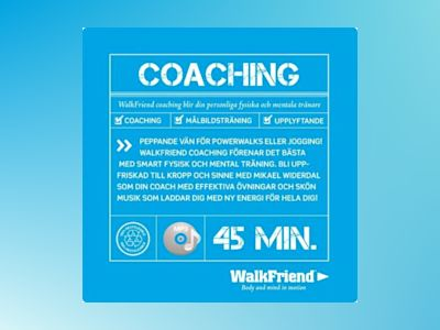 Ljudbok WalkFriend Coaching