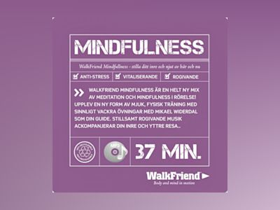 Ljudbok WalkFriend Mindfulness