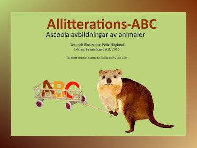 Ljudbok Allitterations-ABC