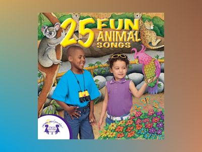 Ljudbok 25 Fun Animal Songs