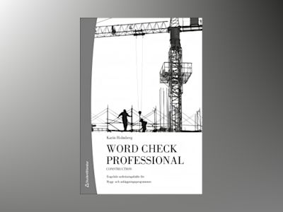 Word Check Professional Building and construction (10-pack) av Karin Holmberg