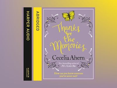 Livre audio Thanks for the Memories - Cecelia Ahern