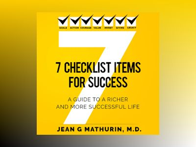 Livre audio 7 Checklist Items for Success - MD
