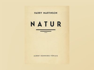 E-Bok Natur : Dikter - Harry Martinson