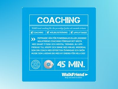 Ljudbok WalkFriend Coaching - Mikael Widerdal