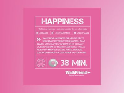 Ljudbok WalkFriend Happiness - Mikael Widerdal