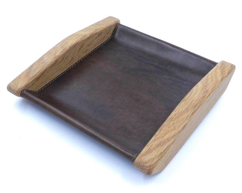 Wooden valet tray
