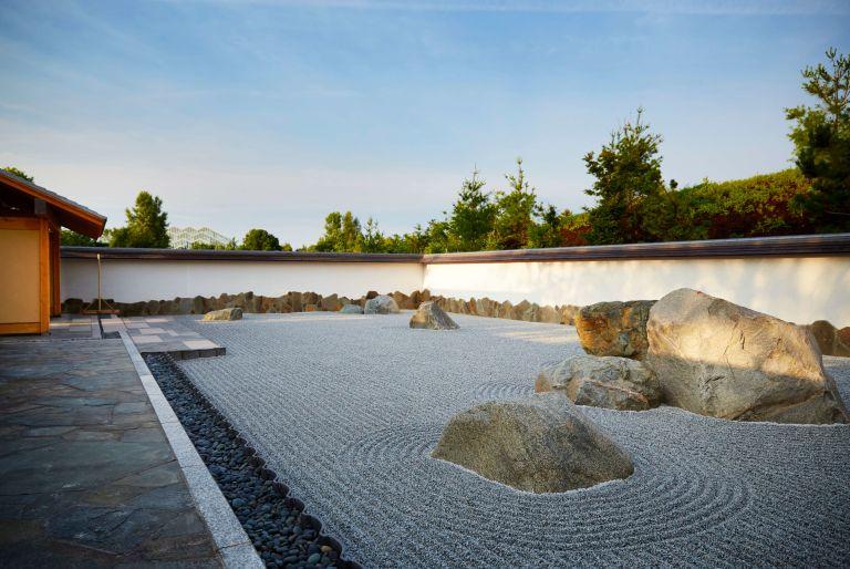 rock garden at Frederik Meijer Gardens