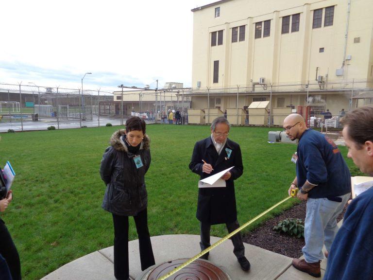 measuring at Oregon State Penitentiary