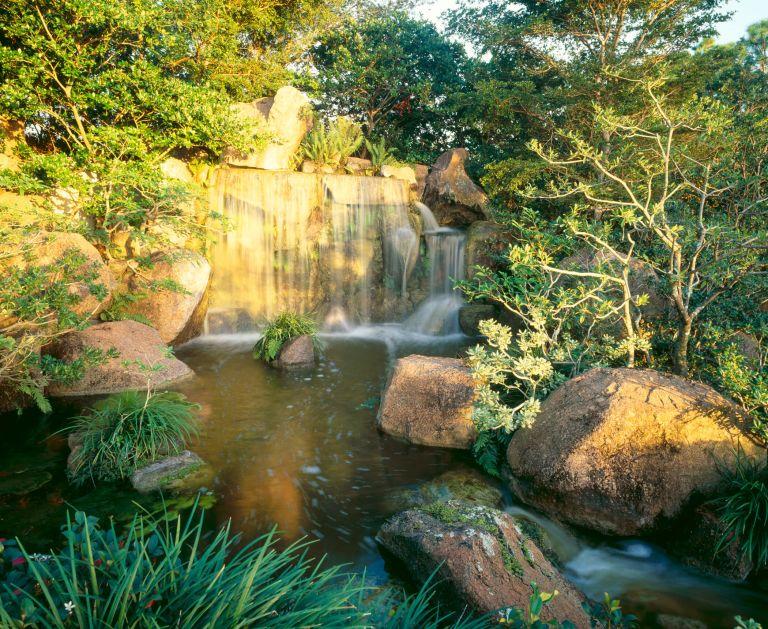 Morikami Falls at Morikami Museum