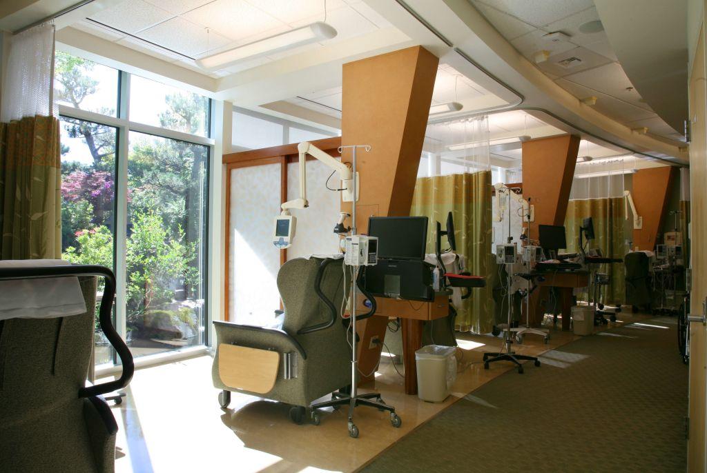 infusion wing at Samaritan Lebanon Community Hospital