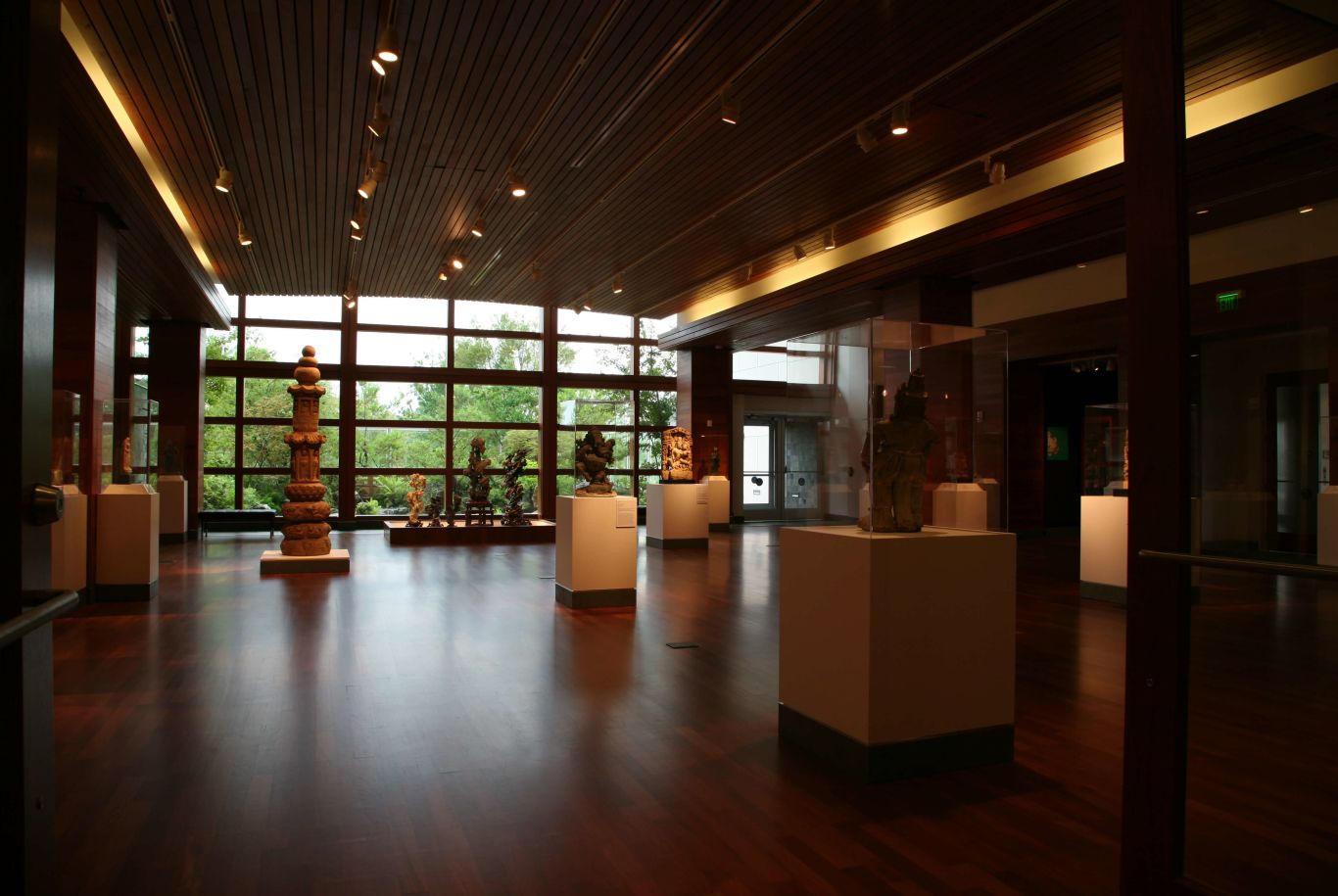 sculptures at the Harn Museum