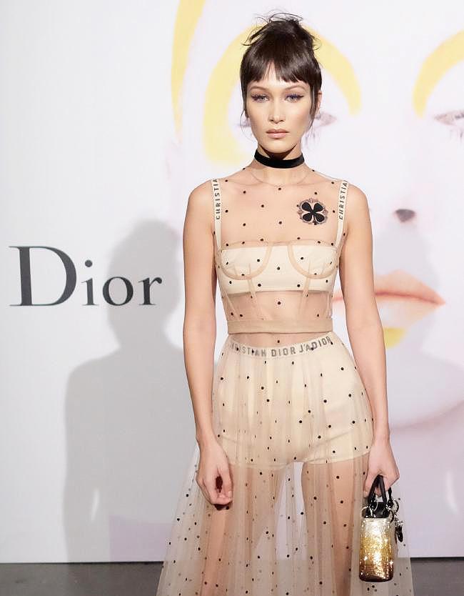 Dior face Bella Hadid