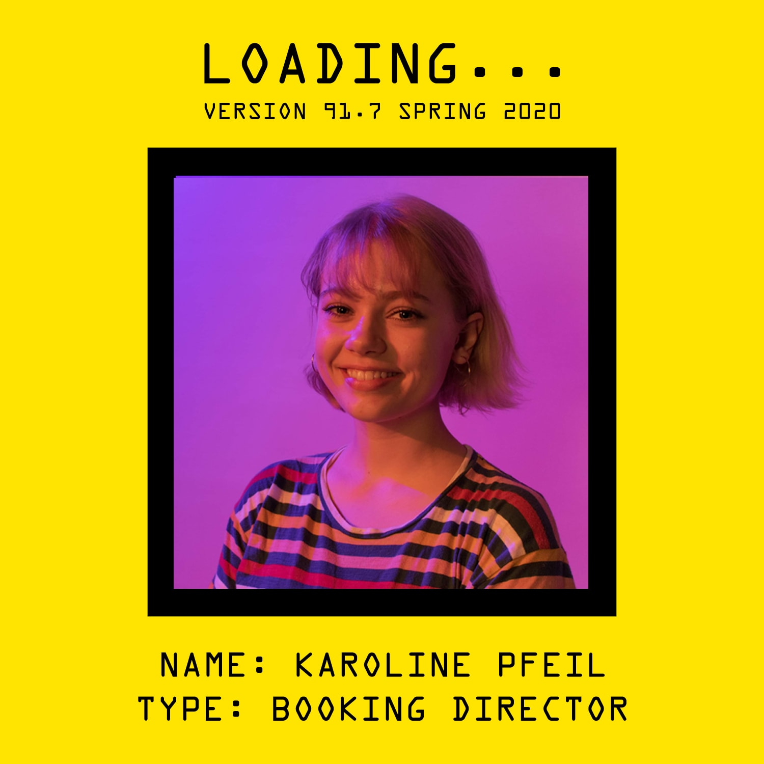 Getting to Know Your Booking Director by Karoline Pfeil