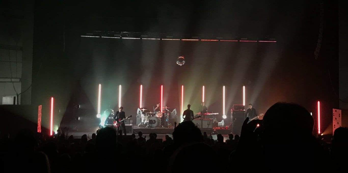 Interpol Shines at Bass Concert Hall
