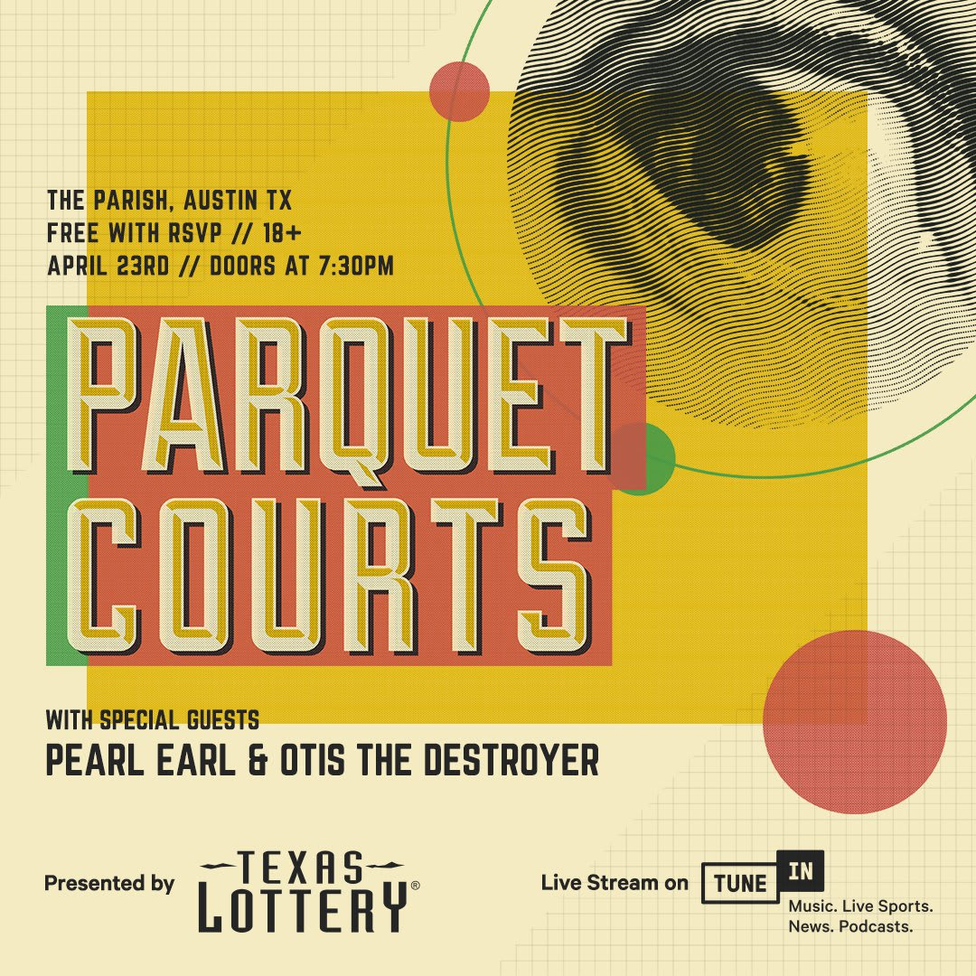 Parquet Courts at Parish by DJ CHAOTIC GOOD