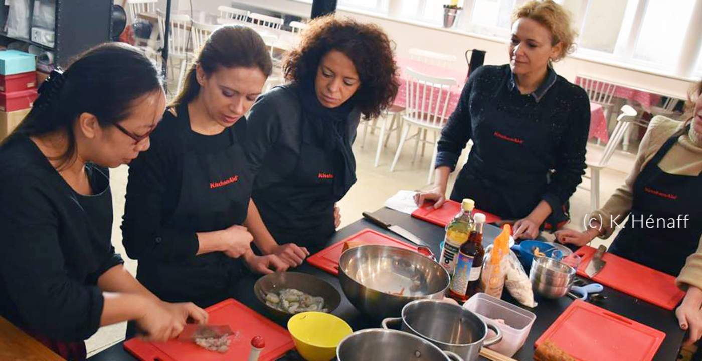 Cours De Pâtisserieatelier De Cuisine De Miss Tâm Menu