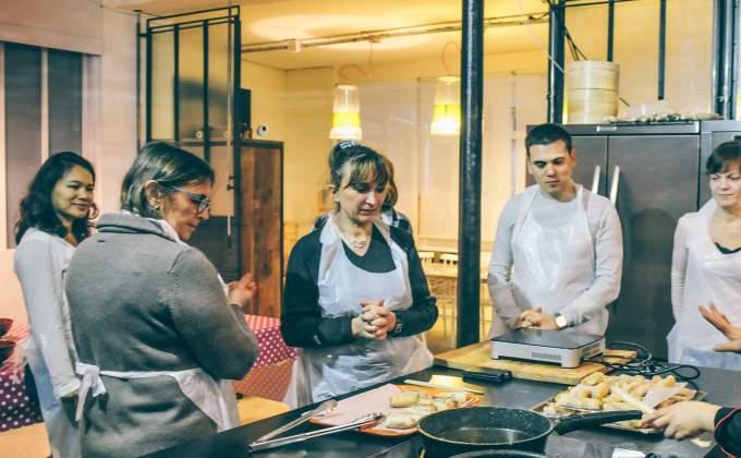 Cours De Pâtisserieatelier De Cuisine De Miss Tâm Les Banh Bao Le