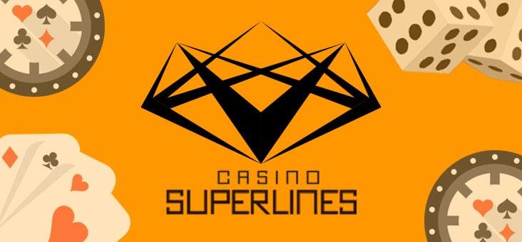 Jogos de crupiê ao vivo no Casino SuperLines