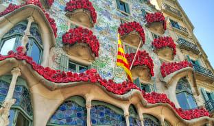 4월, 장밋빛 카탈루냐 광장