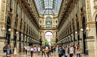 1월, SALE IN 밀라노