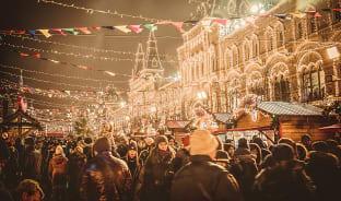 12월, 두 번 깨어나는 겨울의 모스크바