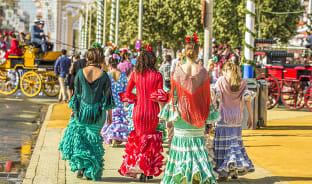4월, 춤과 음악이 함께하는 세비야의 봄