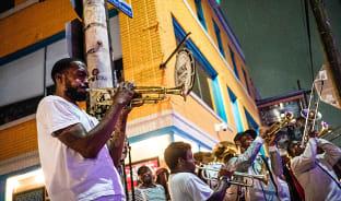4월, 재즈 고향의 선율