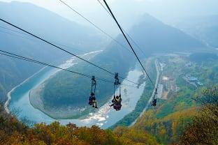 정선짚라인:사진제공(마이픽쳐스)-한국관광공사