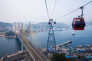 여수 케이블카:사진제공(이범수)-한국관광공사
