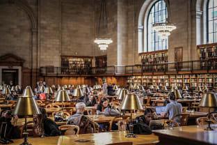 도서관 투어 여행