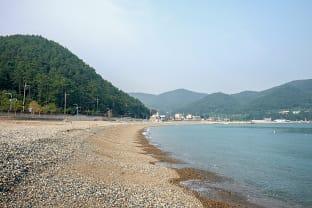 농소 몽돌해변