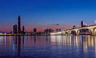 서울 한강 전경