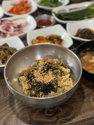 울릉도 따개비밥