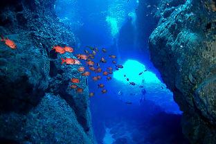 사이판 그루토 동굴