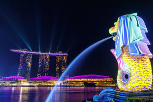싱가포르 멀라이언 파크
