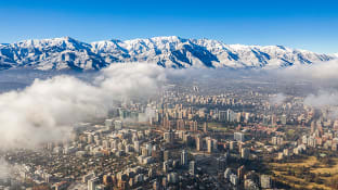산티아고 안데스 산맥
