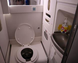 하이에어 기내 화장실