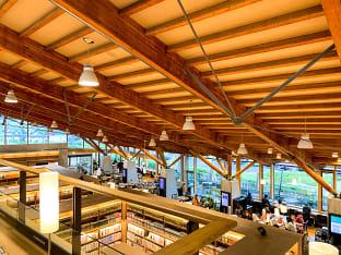 다케오 시립 도서관
