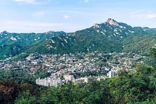 북한산 풍경