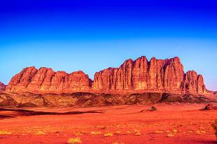 요르단 와디 럼 사막