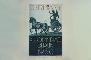 1936 베를린 올림픽 포스터