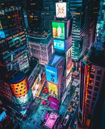 꺼지지 않는 뉴욕의 심장, 타임스 스퀘어