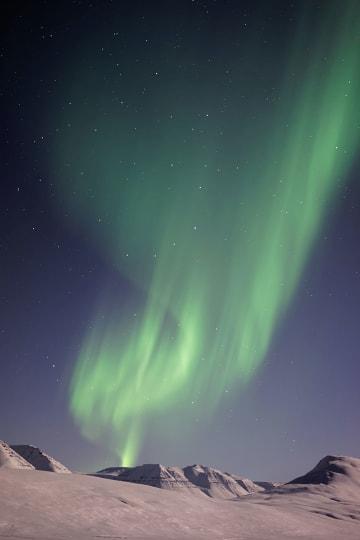 아이슬란드, 오로라만을 위해 가노라